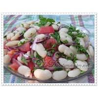 Piyaz Salata Tarifi (Kuru Fasulye Salatası)
