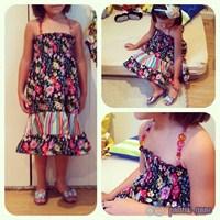 Kızımla Tasarladığımız Elbise