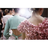 Chanel Defilesi İnci Detayı