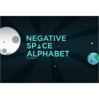 Tasarımcılar İçin Negatif Uzay Alfabesi