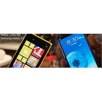 Lumia 920 Ve Galaxy S3 Karşılaştırması