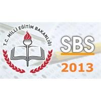 2013 Sbs Sonuçları Açıklandı!