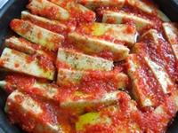 Domates Soslu Patlıcan Paçası