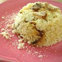 Mantarlı Parmesanlı Pilav