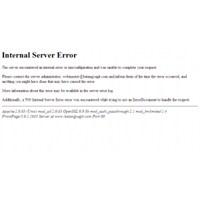 500 İnternal Server Error Hatası Ve Çözümü