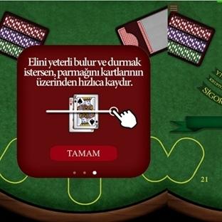 Android Platformunda Farklı Bir Kart Oyun Yirmibir