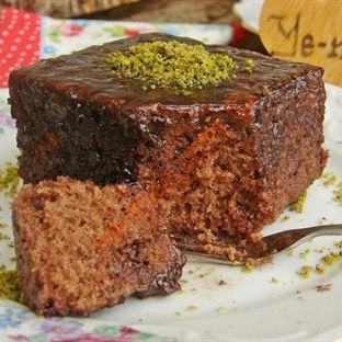 Brownie Tadında Islak Kek Tarifi (Resimli)