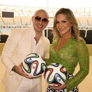 Dünya Kupasında Pitbull Şarkısı!