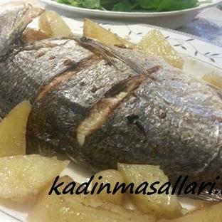 Fırında Patatesli Çipura Balığı
