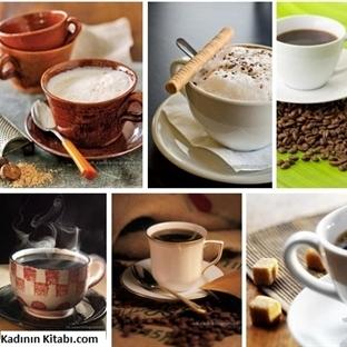 Kahveli İçeceklerdeki Kalori Miktarları