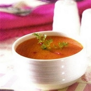 Kremalı Kırmızı Biber Çorbası