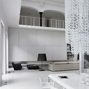 Minimal loft dekorasyonu