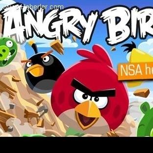 Nsa, Angry Birds'ü Bilgi Sızdırmak İçin Kullanmış