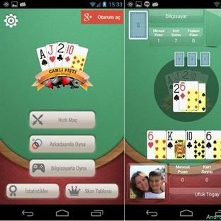 Online Android Pişti Oyunu, Canlı Pişti