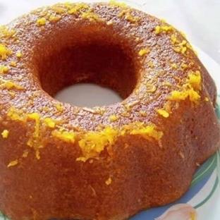 Portakal gazozlu kek