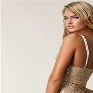 Şeffaf Ve V Yaka Elbise Modelleri 2014