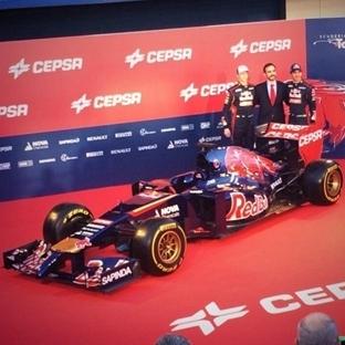 Toro Rosso STR9'un Örütüsünü Kaldırdı