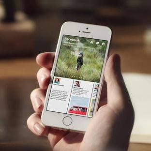 """Yeni bir Facebook uygulaması geliyor: """"Paper"""""""