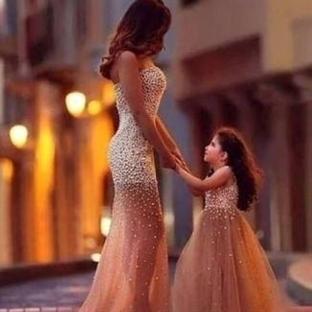 Anne Kız Kıyafet Modelleri