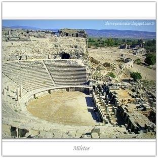 Antik Çağın Kültür Merkezi - Miletos