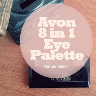 Avon 8 in 1 Eye Palette / Far Paleti | The Metalli