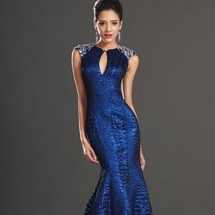 Balık elbise modelleri bu sezon çok moda!