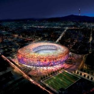 Barcelona'da gezilecek yerler - Barcelona Nou Camp