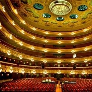 Barcelona Gran Teatre Del Liceu Opera Binası