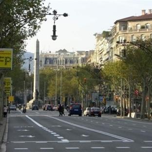 Barcelona Passeig De Gracia Caddesi