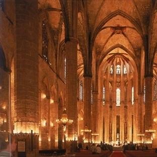 Barcelona Santa Maria Del Mar Kilisesi