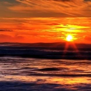 Batan güneşin renginden, ertesi günün hava tahmini