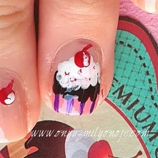 Cupcake Nail Art Nasıl Yapılır?