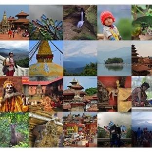 Dünyanın çatısı Nepal .. Benim Objektifimden..
