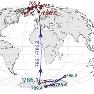 Dünyanın Kutuplarının Değişmesi 100 Yıl Sürüyor