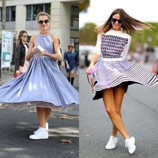 Elbise İle Spor Ayakkabı Alır Mıydınız?