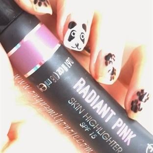 Flormar Pin-Up Radiant Pink Skin Hightlighter