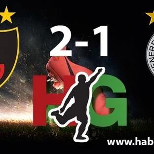 Galatasaray Fenerbahçe Karşılaşması  3 Golle Bitti