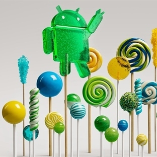 Google'dan Android Lollipop, Nexus 6 ve Nexus 9