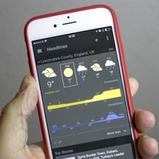 Google Haberler ve Hava Durumu iOS İçin Geldi!