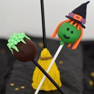 Hexen-Cake Pops / Hexenparty
