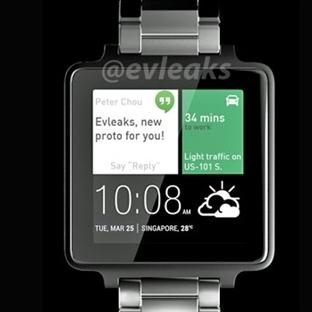 HTC'nin Akıllı Saati Kesinleşti!