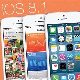 iOS 8.1 20 Ekim'de Yayınlanacak