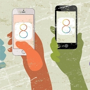 iOS 8 Güncellemeleri Düşük Seyrediyor