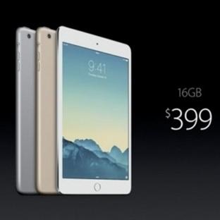 iPad Mini 3 Tablet Tanıtımı Yapıldı