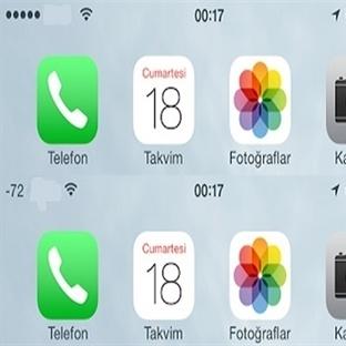 iPhone'da Sinyal Gücünü Sayılar ile Gösterin