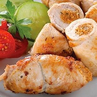 Kısırlı tavuk sarma