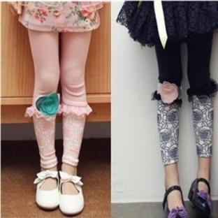 Kız Çocuk Tayt Modelleri
