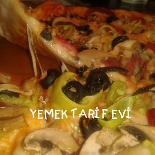 Kolay Tortilla (Lavaş) Pizza Tarifi
