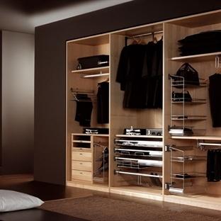 Kullanışlı Giyinme Odaları