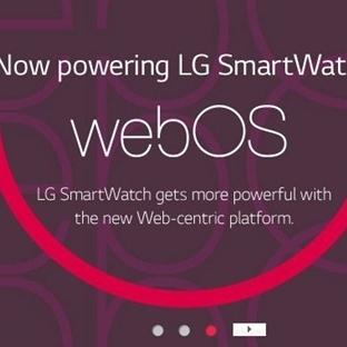 LG WebOS'lu Bir Akıllı Saat Üzerinde Çalışıyor